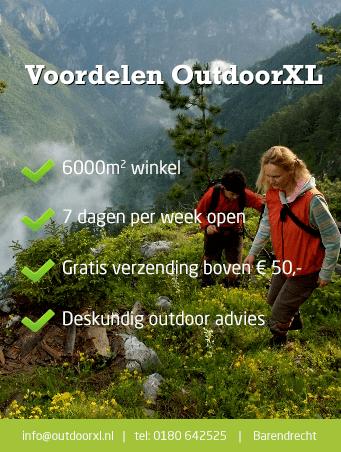 OutdoorXL voordelen