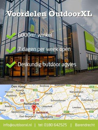 OutdoorXL 7 dagen per week geopend, openingstijden