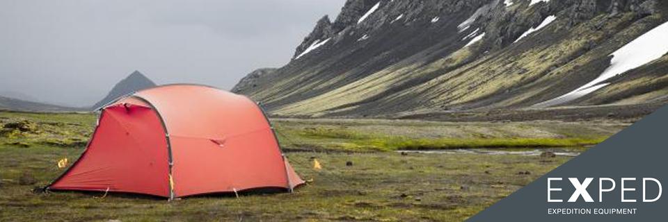 Exped | Slaapzakken, Rugzakken en Tenten | OutdoorXL