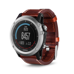 Garmin fenix 3 Sapphire Leather GPS Watch