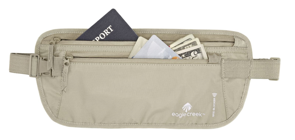 Eagle creek rfid money belt koop je bij outdoorxl barendrecht for Opblaasboot action