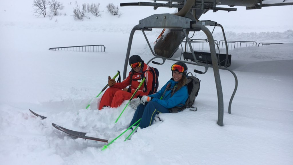 Skitest 2020 sneeuwdump